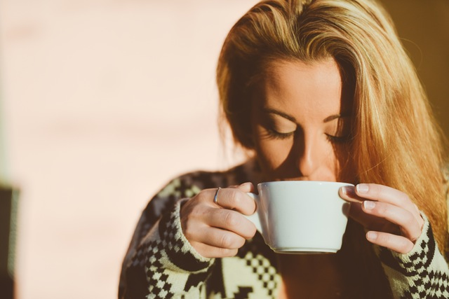 person-woman-coffee-cup from pexels free